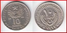**** MAURITANIE - MAURITANIA - 10 OUGUIYA 1993-AH1414 **** EN ACHAT IMMEDIAT !!! - Mauritania