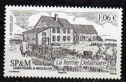St.Pierre & Miquelon 2007 Agriculture - Delamaire Farm.cow. MNH - St.Pierre & Miquelon
