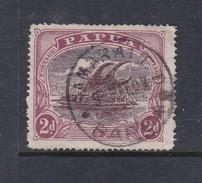 Papua SG 96a 1916-31 Lakatoi 2d Deep Brown-purple And Lake Used - Papua New Guinea