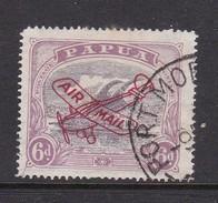 Papua SG 118 1930 Lakatoi Air Mail 6d Purple And Red Purple Used - Papua New Guinea