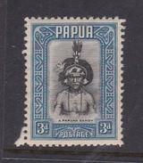 Papua SG 134 1932 Definitives 3d Papuan Dandy Mint Never Hinged - Papoea-Nieuw-Guinea