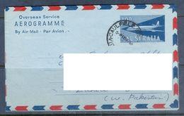 D644- Postal Used Aerograme Of Australia. Post To Pakistan. - Australia