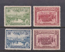Papua SG 146-149 1934 50th Anniversary Of Declaration Mint Hinged Set - Papua New Guinea