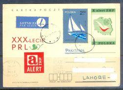 D646- Old & Rare Post Card Of Poland. Polska. Ship. Post To Pakistan. - Poland