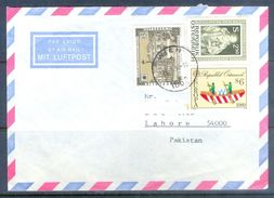 D654- Cover Posted From Osterreich. Post To Pakistan. Europa. Ship - UNO