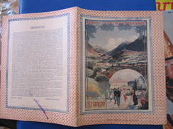 CAHIER 25 Pages - AFFICHE PLM - BRIANCON - 1909 - PAPETERIE BOILET BAR SUR AUBE - Transports