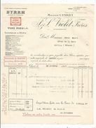 Facture , Vins Fins , BYRRH , NANTES , 1931, VIOLET Frères ,  Frais Fr : 1.55 Euros - France