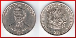 **** HAITI - 20 CENTIMES 1989 CHARLEMAGNE PERALTE **** EN ACHAT IMMEDIAT !!! - Haïti