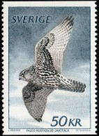 ~~~ Sweden 1981 -  Birds Falcon 50 Kronor - Mi. 1140 ** MNH  ~~~ - Unused Stamps