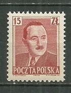 POLAND MNH ** 566 Président Boleslaw BIERUT - Ungebraucht