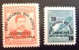 Filipinas 0425/426 ** MNH. 1954 - Philippines
