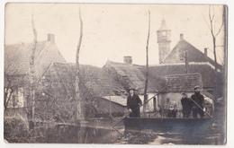 Moerzeke: Overstroming 1928. (fotokaart) - Hamme