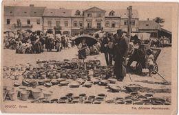POLAND LOWICZ Rynek Marché Foto Marcinkowski - Polonia