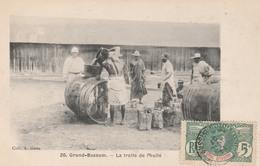 GRAND-BASSAM   La Traite De L'huile   TB PLAN 1907 - Côte-d'Ivoire
