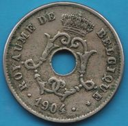 BELGIQUE 10 CENTIMES 1904 KM# 52 ROYAUME DE BELGIQUE - 04. 10 Centimes