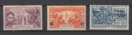 Indochine N° 147 / 149 Neufs Avec Charnières * - Indochine (1889-1945)