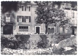 Cpsm Valleraugue - L'Hôtel De La Cloche D'or - Valleraugue