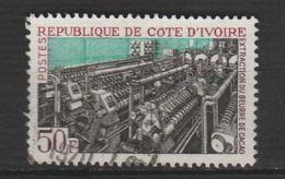 """CÔTE D'IVOIRE ,N°274 """" EXTRACTION DU BEURRE DE CACAO - Côte D'Ivoire (1960-...)"""