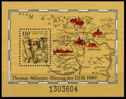 DDR BLOCK KLEINBOGEN Block 97 Gestempelt X73A312 - [6] Democratic Republic