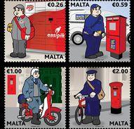 Malta / Malte - Postfris / MNH - Complete Set Postuniformen 2017 - Malta