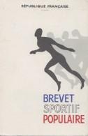 Vieux-Papiers - Carte Brevet Sportif Populaire - Sports -  Eaubonne 95 - Vieux Papiers