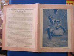 CAHIER 27 Pages - ASCENSION TRAGIQUE DE GLAISHER - BALLON  - 1913 - Valck BAR SUR AUBE - Transports