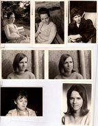 Lot De 7 Photos Originales Portrait De Pin-up Vers 1950/60/70 - Jeunes & Jolies - Pin-up