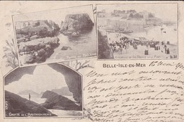 56----RARE---BELLE-ISLE-EN-MER---multivues--voir 2 Scans - Belle Ile En Mer