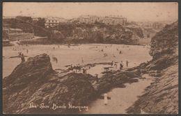 The Town Beach, Newquay, Cornwall, C.1910 - Westlake Postcard - Newquay