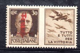 XP3209 - RSI , Propaganda Di Guerra Il Valore Da 30 Cent (tutto E Tutti ...) ** MNH - 4. 1944-45 Repubblica Sociale