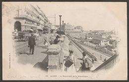 Le Boulevard De La République, Alger, Algérie, 1903 - U/B Postcard CPA - Algiers