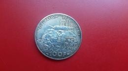 PIECE DE MONNAIE 100 F  RF 1994  LIBERATION DE PARIS  ROMILLY   LIBERTE EGALITE FRATERNITE - N. 100 Francs