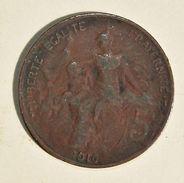Pièce De Monnaies France - 5 Centimes Daniel Dupuis - 1916 - France
