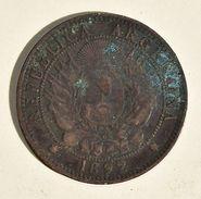 Pièce De Monnaies Argentine République - 2 Centavos 1892 - Monnaies