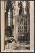 The Baptistry, Truro Cathedral, Cornwall, C.1940s - Ellis RP Postcard - England