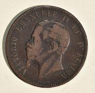 Monnaie Italie 10 Centesimi 1862 M  - Victor-Emmanuel II Italia - Monnaies