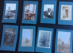 15 Photos (5,5 X 4 Cm) Collées Sur Carton, Tout Début Du Siècle Dernier, Aucune Précision De Lieu - Anonymous Persons