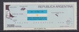 Argentina 1983 Recovery Of The Malvinas 1v ** Mnh (35600F) - Ongebruikt