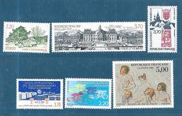 France  Timbres  De 1989    N°2586 A 2591  Neuf ** - France