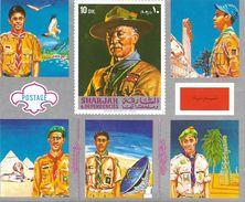 Sharjah HB 1971 Scouts. Plata. (sin Goma) - Sharjah