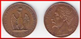 ****JETON LOUIS NAPOLEON BONAPARTE - A LOUIS NAPOLEON III VIVE L'EMPEREUR 16 OCTOBRE 1852 **** EN ACHAT IMMEDIAT !!! - Royal / Of Nobility