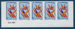 CAMEROUN Non Dentelé Europafrique 1967 - Camerun (1960-...)