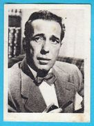 HUMPHREY BOGART - Yugoslavian Vintage Collectiable Gum Card Issued 1960's * American Film Screen Stage Actor Movie USA - Cinema & TV