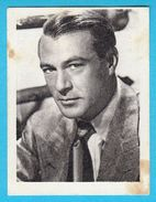 GARY COOPER - Yugoslavian Vintage Collectiable Gum Card Issued 1960's * American Film Actor Movie USA - Cinema & TV