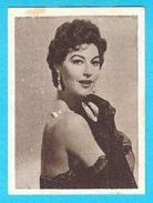 AVA GARDNER - Yugoslavian Vintage Collectiable Gum Card Issued 1960's * American Film Actress Movie USA - Cinema & TV