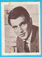 ROCK HUDSON - Yugoslavian Vintage Collectiable Gum Card Issued 1960's * American Film Actor Movie USA - Cinema & TV