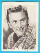 KIRK DOUGLAS - Yugoslavian Vintage Collectiable Gum Card Issued 1960's * American Film Actor Movie USA - Cinema & TV