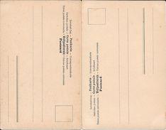 FANDANGO SPANIEN ESPAGNE AND CZARDAS UNGARN HONGRIE 2 CPAs YEAR 1904 TRES BON ETAT PRECURSEURS UNCIRCULATED - Dans
