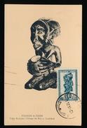 FIGURE A COUPE - TRIBU BA LUBA ( VILLAGE DE BULI S.LUALABA ) - Belgian Congo - Other