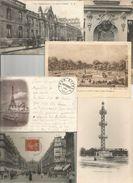 Cp, Petits Modéles , 75 , PARIS , LOT DE 6 CARTES DE PARIS - Postcards